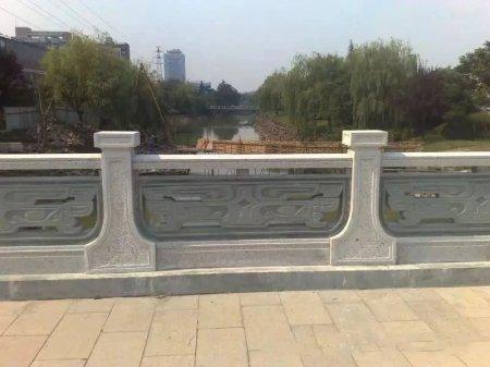 橋梁(liang)鏤(lou)空花崗岩石欄板(ban)