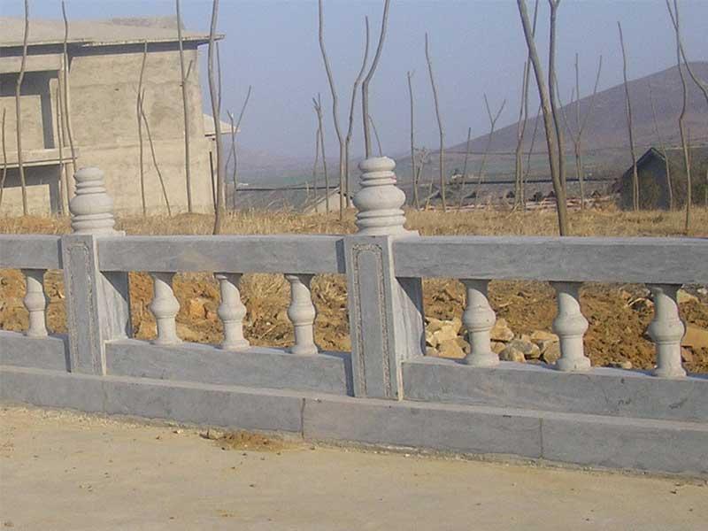 花岗岩石栏板